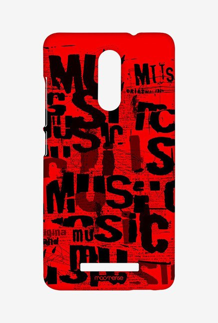 Macmerise XACN3SMI0530 Music Mania Sublime Case for Xiaomi Redmi Note 3