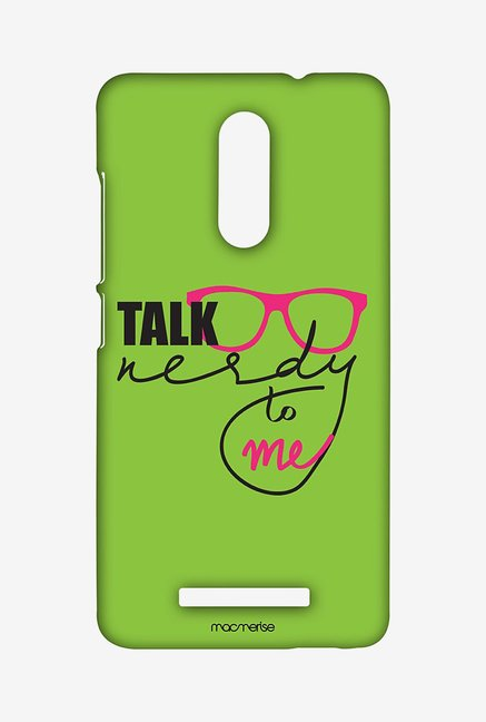 Macmerise XACN3SMI0536 Nerd Talk Green Sublime Case for Xiaomi Redmi Note 3