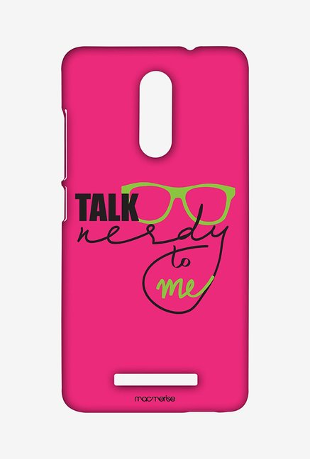 Macmerise XACN3SMI0542 Nerd Talk Pink Sublime Case for Xiaomi Redmi Note 3