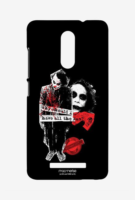Macmerise XACN3SDK0134 Joker Fun Sublime Case for Xiaomi Redmi Note 3
