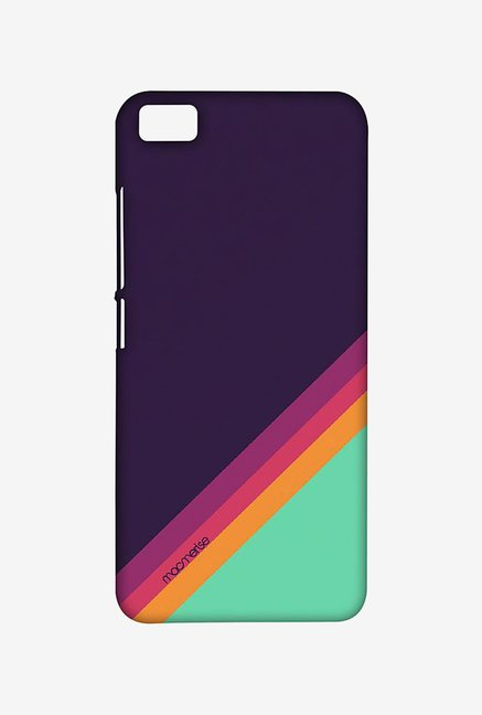 Macmerise XACM5SMI0902 Slope Stripes Purple Sublime Case for Xiaomi Mi5