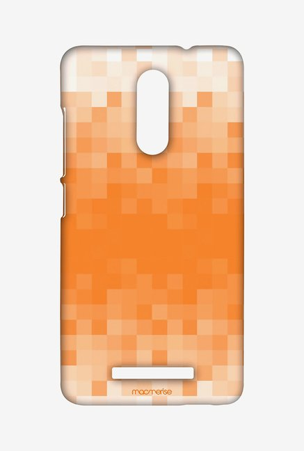 Macmerise XACN3SMI0302 Pixelated Orange Sublime Case for Xiaomi Redmi Note 3