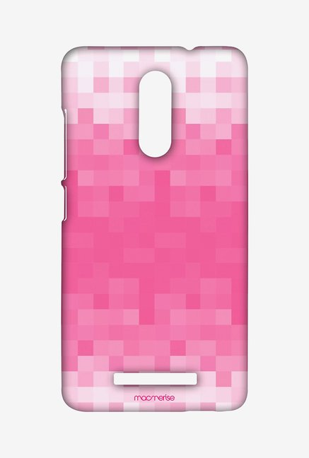 Macmerise XACN3SMI0308 Pixelated Pink Sublime Case for Xiaomi Redmi Note 3