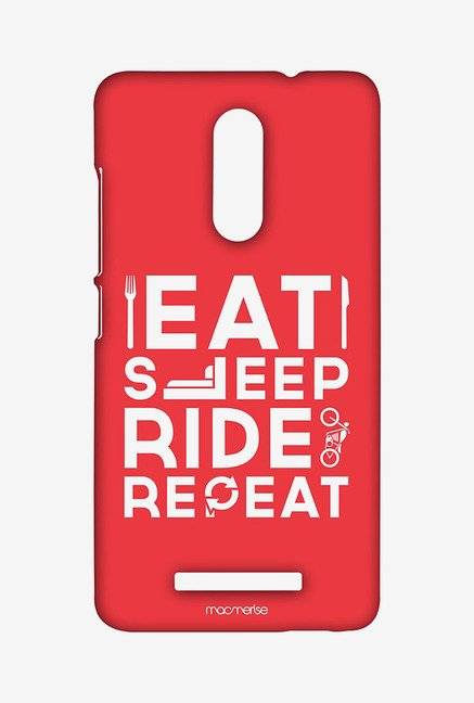 Macmerise XACN3SMI0164 Eat Sleep Ride Repeat Sublime Case for Xiaomi Redmi Note 3