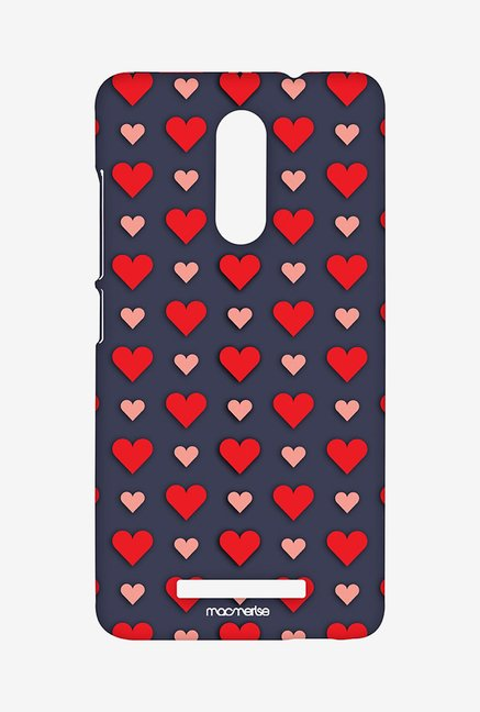Macmerise XACN3SMI0086 Polka hearts Sublime Case for Xiaomi Redmi Note 3
