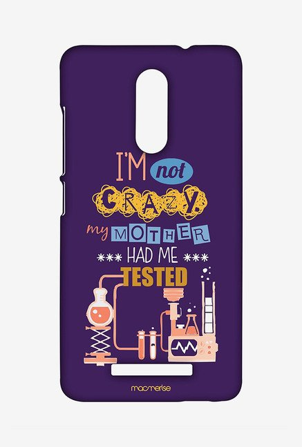 Macmerise XACN3SMI0194 I am not crazy Sublime Case for Xiaomi Redmi Note 3