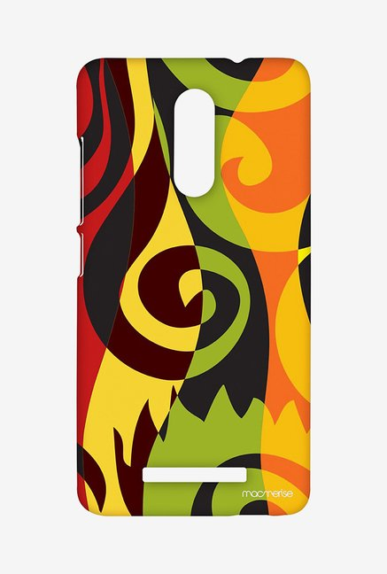 Macmerise XACN3SMI0326 Rasta Patterns Sublime Case for Xiaomi Redmi Note 3
