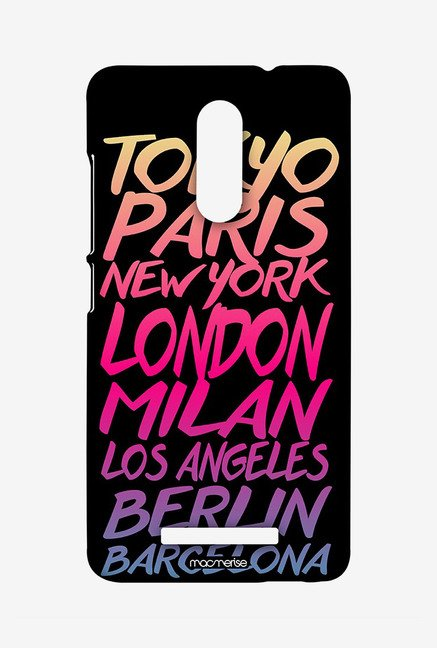 Macmerise XACN3SMI0488 Fashion Cities Sublime Case for Xiaomi Redmi Note 3
