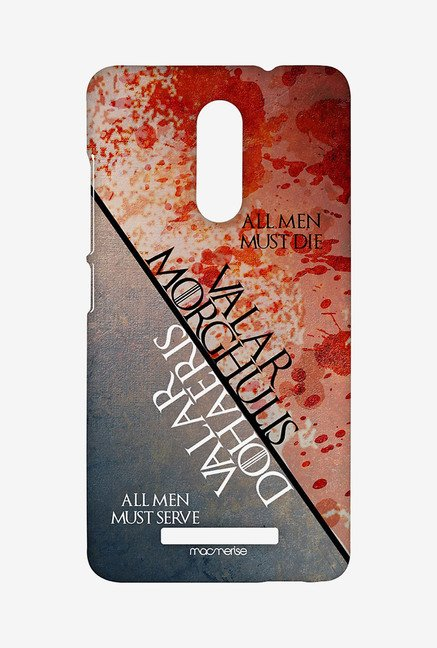Macmerise XACN3SMI0584 Serve and Die Sublime Case for Xiaomi Redmi Note 3