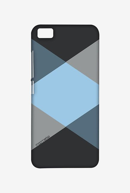 Macmerise XACM5SMI0728 Criss Cross Blugrey Sublime Case for Xiaomi Mi5