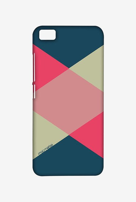 Macmerise XACM5SMI0752 Criss Cross Tealpink Sublime Case for Xiaomi Mi5