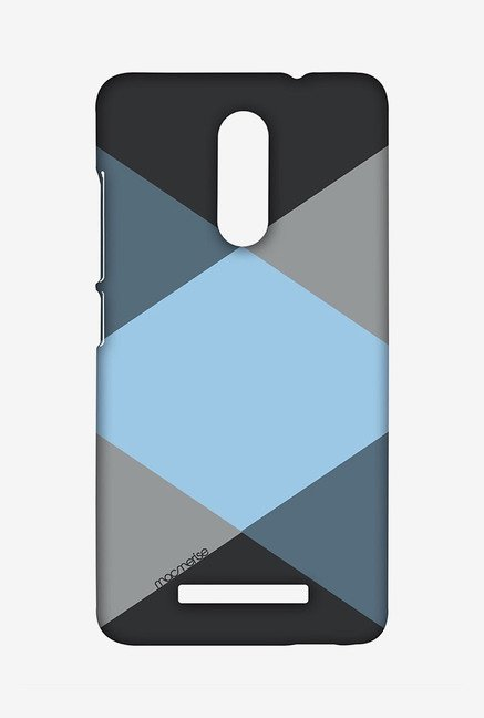 Macmerise XACN3SMI0728 Criss Cross Blugrey Sublime Case for Xiaomi Redmi Note 3