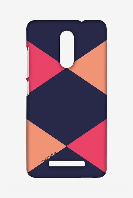 Macmerise XACN3SMI0734 Criss Cross Blupink Sublime Case for Xiaomi Redmi Note 3