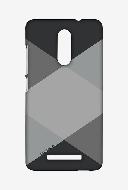 Macmerise XACN3SMI0746 Criss Cross Grey Sublime Case for Xiaomi Redmi Note 3