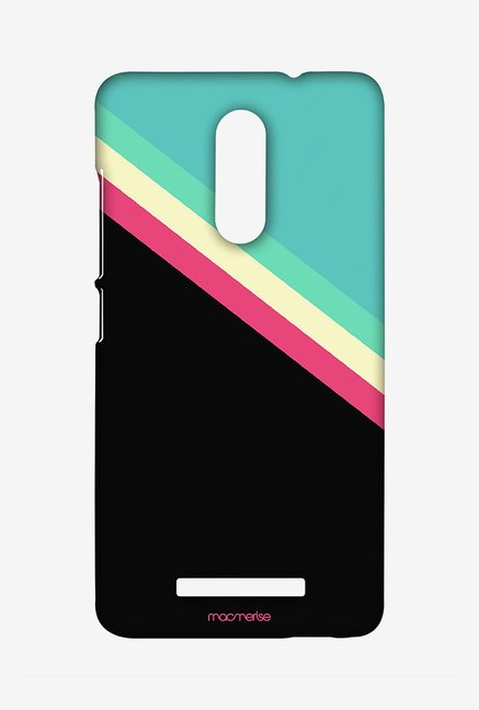 Macmerise XACN3SMI0890 Slope Stripes Black Sublime Case for Xiaomi Redmi Note 3