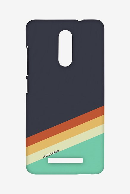 Macmerise XACN3SMI0896 Slope Stripes Grey Sublime Case for Xiaomi Redmi Note 3