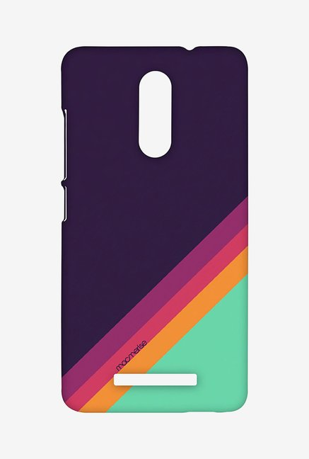 Macmerise XACN3SMI0902 Slope Stripes Purple Sublime Case for Xiaomi Redmi Note 3