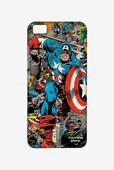 Macmerise XACM5SMM0056 Comic Captain America Sublime Case for Xiaomi Mi5
