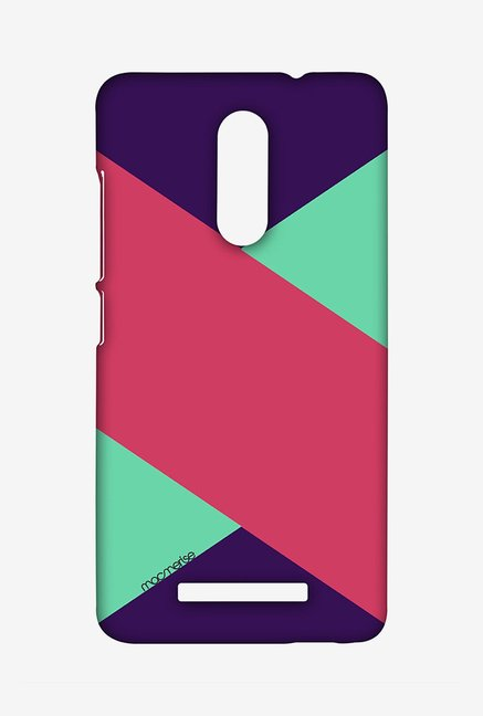 Macmerise XACN3SMI0914 Tealpink Stripes Sublime Case for Xiaomi Redmi Note 3