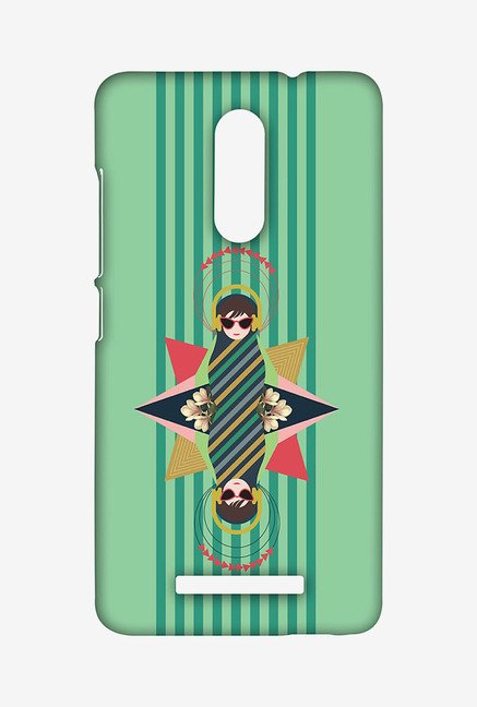 Macmerise XACN3STD0014 Lady Jazz Sublime Case for Xiaomi Redmi Note 3