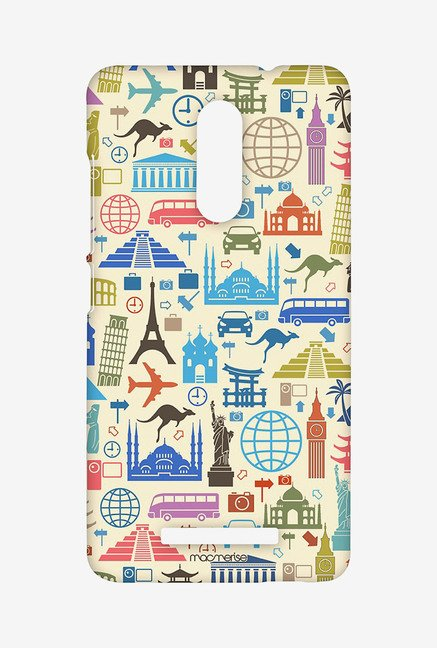 Macmerise XACN3SMI0404 Travel Lover Sublime Case for Xiaomi Redmi Note 3