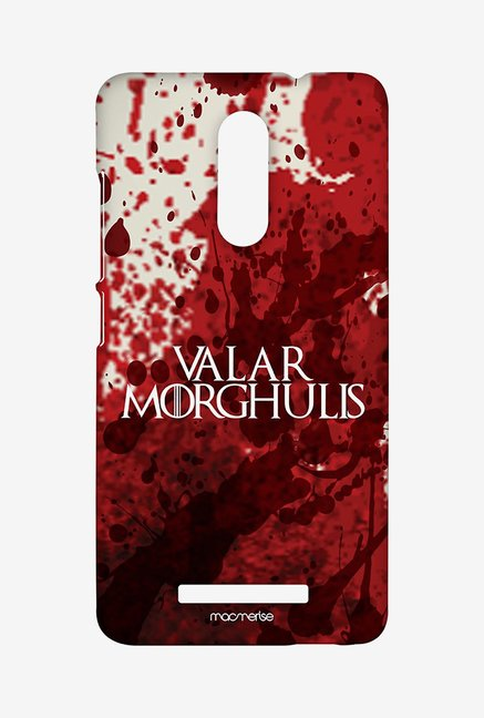 Macmerise XACN3SMI0638 Valar Morghulis Sublime Case for Xiaomi Redmi Note 3