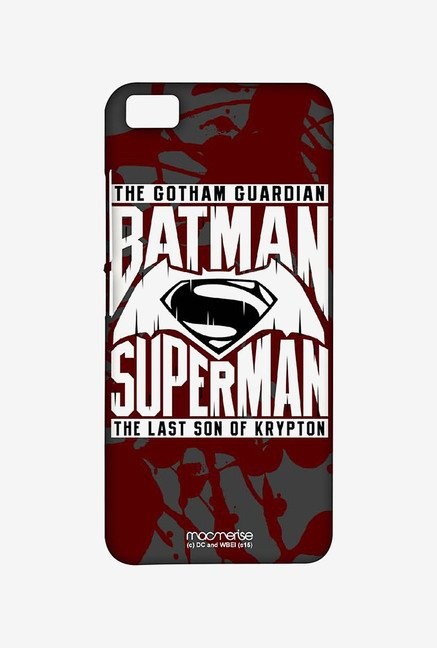 Macmerise XACM5SBS0026 Gotham vs Krypton Red Sublime Case for Xiaomi Mi5