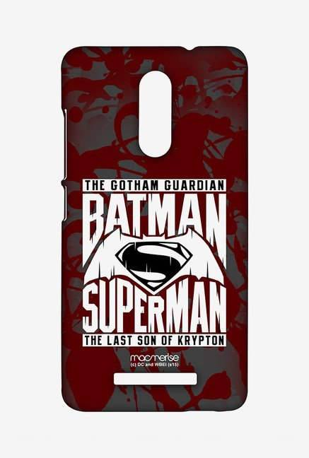 Macmerise XACN3SBS0026 Gotham vs Krypton Red Sublime Case for Xiaomi Redmi Note 3
