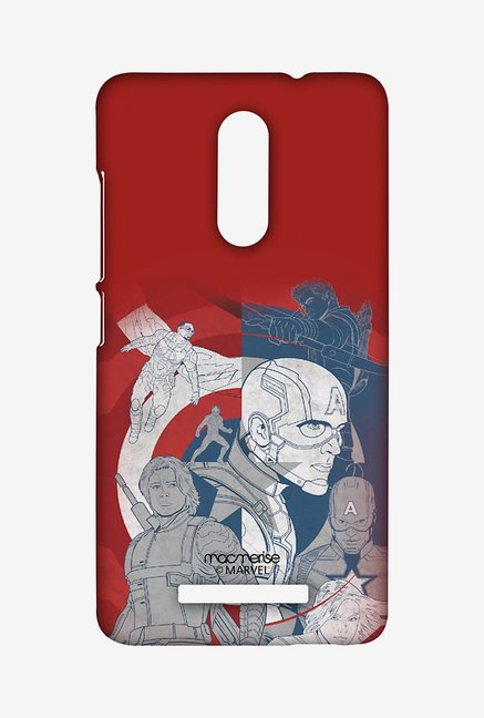 Macmerise XACN3SMM0572 Team Cap Sketch Sublime Case for Xiaomi Redmi Note 3
