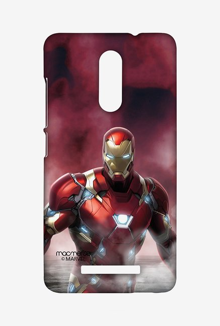 Macmerise XACN3SMM0602 Team Red Ironman Sublime Case for Xiaomi Redmi Note 3