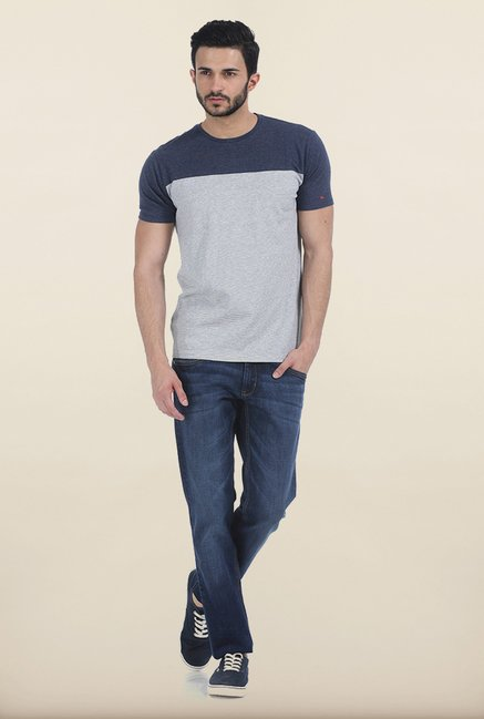 Basics Dress Grey Crew T Shirt