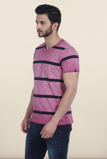 Basics Light Plum Vintage T Shirt