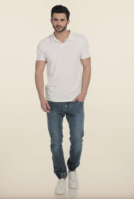 Basics Snow White Polo T Shirt