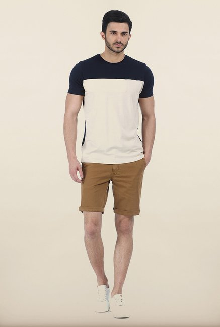 Basics Dress Navy Crew T Shirt