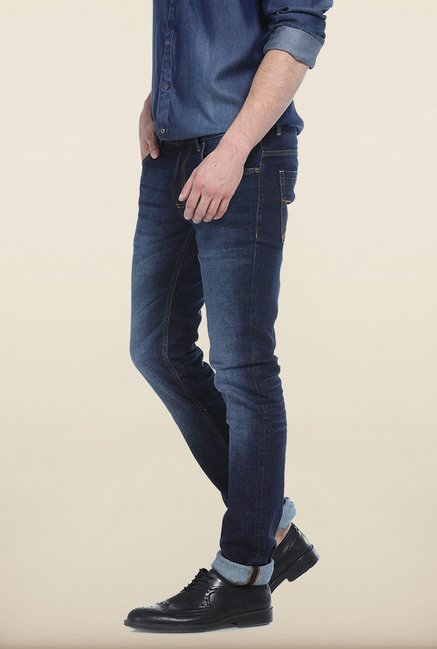 Basics Drift Fit Mood Indigo Stretch Jeans