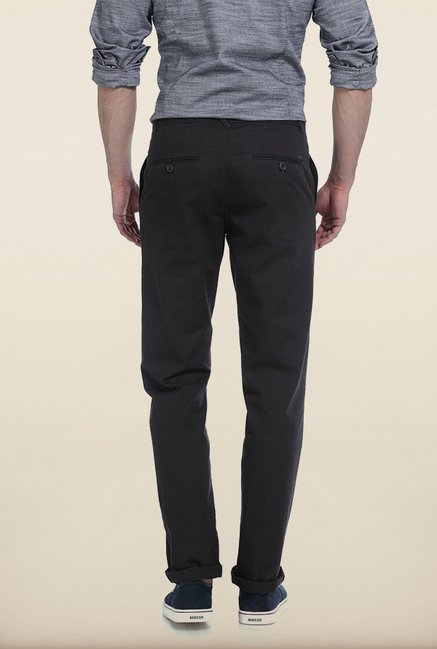 Basics Slim Fit Nine Iron Twill Cotton Trouser