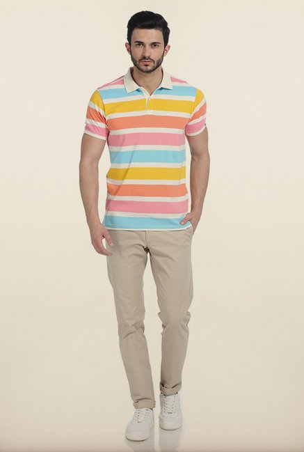 Basics Nimbus Cloud Rugby Polo T Shirt