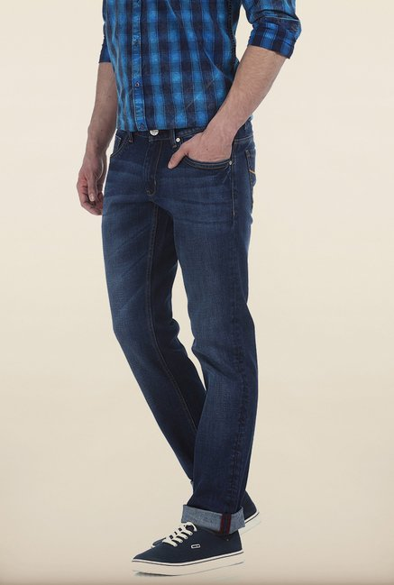 Basics Drift Fit True Navy Stretch Jeans
