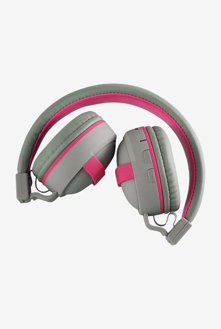 Slanzer SZH BT273 On the Ear Bluetooth Headphone (Pink)