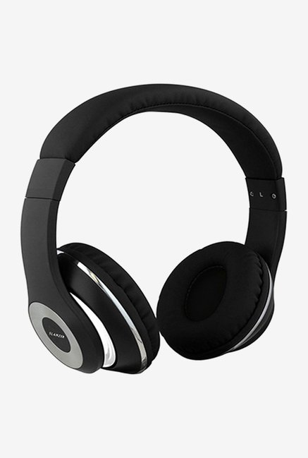 Slanzer SZH N222BK On the Ear Headphone (Black)