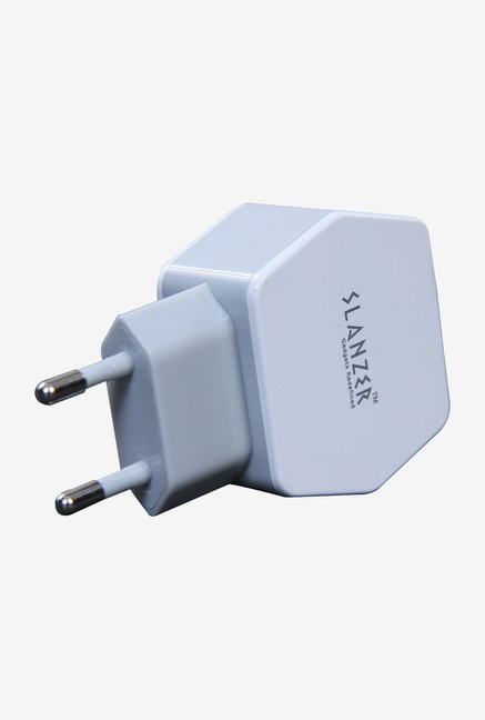 Slanzer SZC-W402 USB Travel Charger (White)