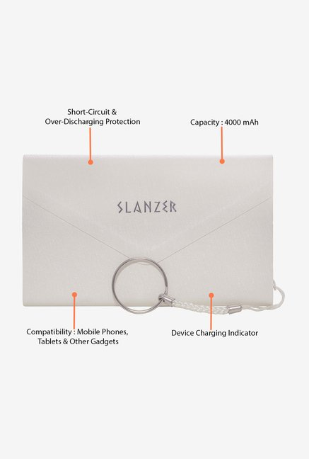 Slanzer SZP P152WT 4000 mAh Power Bank (White)