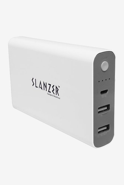 Slanzer SZP L115 10000 mAh Power Bank (White)