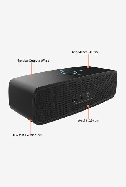 Slanzer SZS BT006 Bluetooth Speaker (Black)