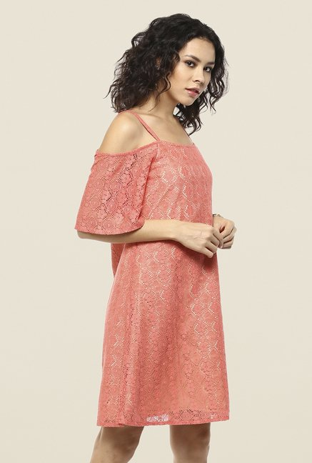 Femella Coral Shift Dress
