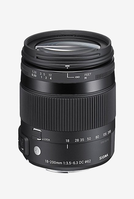 Sigma 18-200mm F/3.5-6.3 DC Macro OS HSM Lens for Nikon