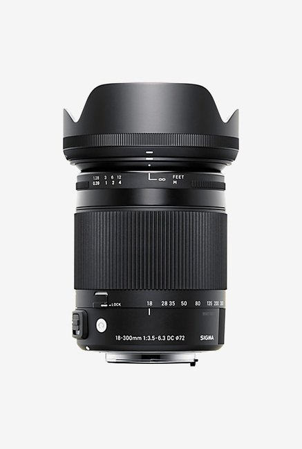 Sigma 18-300mm F/3.5-6.3 DC Macro OS HSM Lens for Nikon