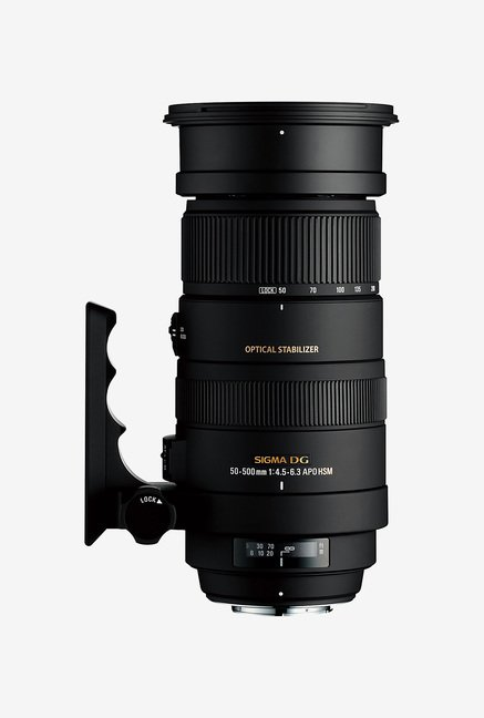 Sigma 50-500mm F/4-6.3EX DG HSM OS Lens for Canon