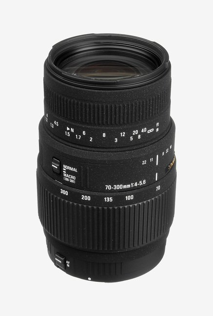 Sigma70-300mm F/4-5.6 DG Macro Lens for Canon