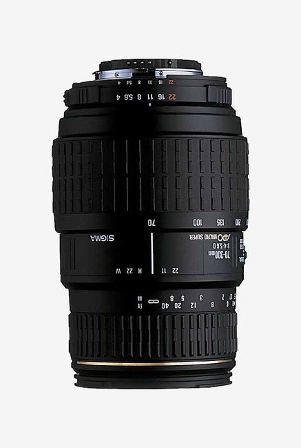 Sigma70-300mm F/4-5.6 DG Macro Lens for Nikon